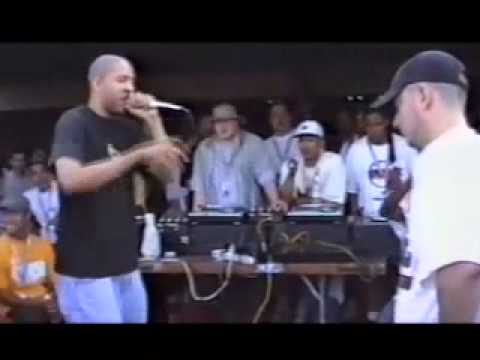 Eminem vs Juice rare rap battle freestyle '97
