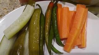 Arabic Pickles - Dubai Kitchen