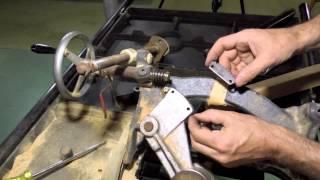 Repairing table saw depth adjustment