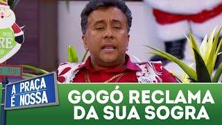 Paulinho Gogó reclama da sua sogra | A Praça é Nossa (28/12/17)