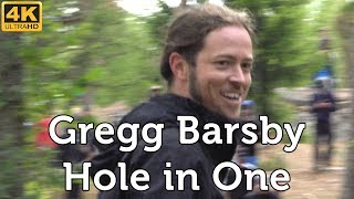 Gregg Barsby's Hole in One (95m/312ft) @ Tyyni 2018, Sipoo, Finland [4K]