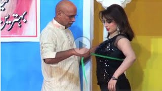 { Hot Nida Chaudhry with Saleem Albela } Sxy Mod  , Pakistani Punjabi Stage Drama Full Comedy HD