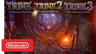 Trine Series - Announcement Trailer - Nintendo Switch