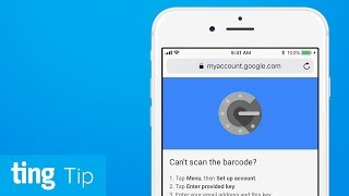 2-Step Verification with Google Authenticator | Ting Tip