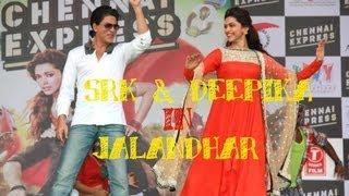 Chennai Express I SRK smitten by Jalandhar I City Tour