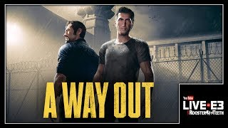 ALL ABOARD THE HYPE TRAIN! A Way Out First Look & Details - YouTube Live at E3