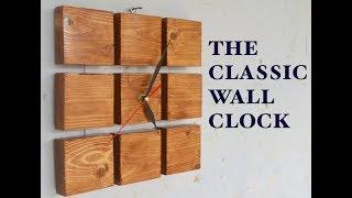 The DIY Classic Wall Clock