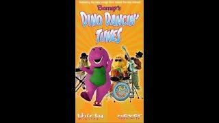 Barney's Dino Dancin' Tunes 2000 VHS
