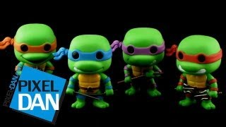 Funko Teenage Mutant Ninja Turtles Pop! Vinyl Figures Video Review