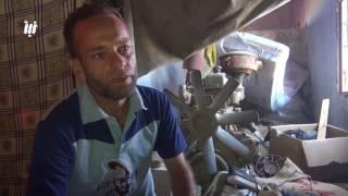أبو زيد من الغوطة الشرقية لم يجد خيمة ليسكن فيها، لكن وجدَ بديلاً عن ذلك..
