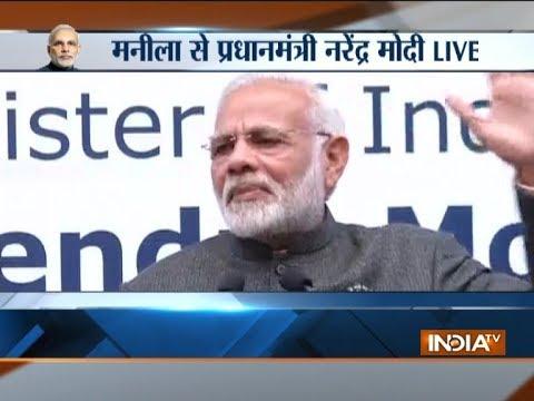 Xxx Mp4 PM Modi Addresses Indian Community In Manila 3gp Sex