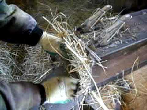 Hydrauliczna praska do siana