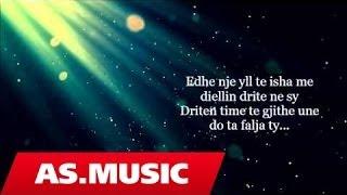 Alban Skenderaj - Vetem Ty (Official Lyric Video)