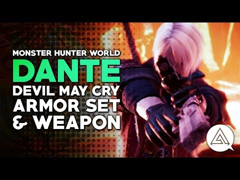 Xxx Mp4 Monster Hunter World Devil May Cry Collaboration Dante Armor Weapon 3gp Sex