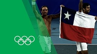 Chile's First Olympic Gold - González & Massú on Men's Tennis Doubles 2004 | Olympic Rewind