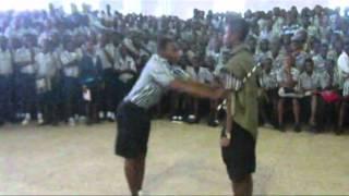 Adisco Cadet Handing over
