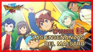 Inazuma Eleven Go Chrono Stones -Episodio 9 español «¡Las Enseñanzas del Maestro!»