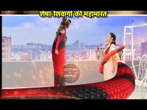 Shivanya and Shresha's faceoff in Naagin