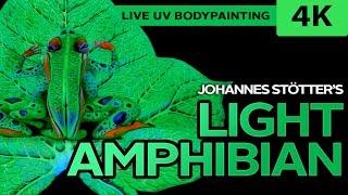 Light Amphibian Bodypainting Show in 4K by Johannes Stötter