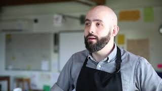 Binging with Babish host Andrew Ray brings his talent to a Rochester school