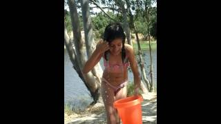 Desafio do banho de balde de água fria❄
