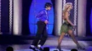 Britney Spears ft. Michael Jackson The Way You Make Me Feel Live in Concert