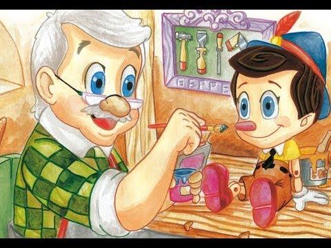 Pinocho audio cuento