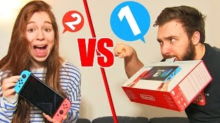 SWITCH CHALLENGE en COUPLE !! Nintendo 1-2 SWITCH DEFI FUN !
