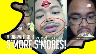 #SNAPVLOG001: Want Some More S'mores! (Snapchat Video-Log)
