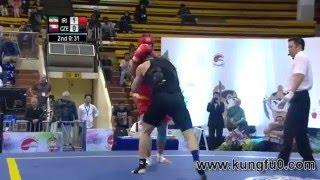 بطولة العالم 2015 ووشو كونغ فو ساندا وزن 85 - 90 كيلو