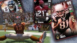 MUT 17 - Ultimate Ticket Randy Moss Deion Sanders Demaryius Thomas Gameplay! Madden 17 Ultimate Team