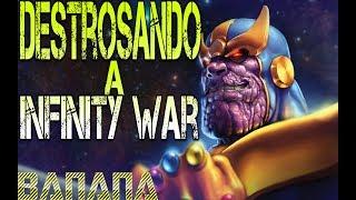 Destrocemos a Avengers Infinity War con Cinexceso, Alejozaap , ProyectoChaos y mas!!!!