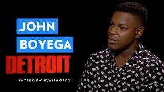 Detroit Actor John Boyega Analyzes Systematic Racism