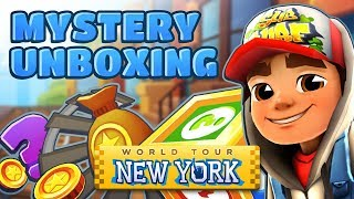 💰 Subway Surfers Mystery Unboxing - Opening Mystery Boxes in New York