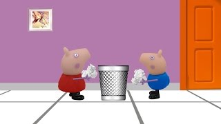 Bits of paper Nursery Rhyme with Peppa Pig and Friends
