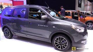 2017 Dacia Lodgy Stepway - Exterior and Interior Walkaround - 2017 Geneva Motor Show