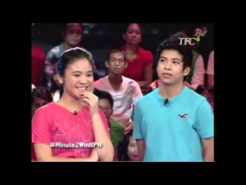 Nash Aguas Banat in Minute to Win It