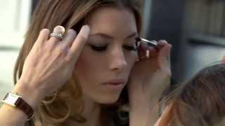 Jessica Biel Behind The Scenes - Revlon Growluscious Mascara advertisement