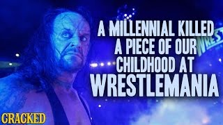 A Millennial Killed a Piece of Our Childhood at WWE
