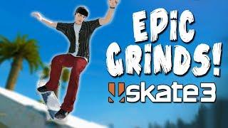 EPIC SKATE 3 GRINDS CHALLENGE!?