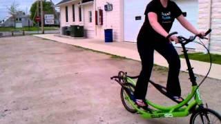 Test riding the Elipti-go.3gp