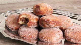Bomboloni | Nutella Stuffed Italian Donuts | Episode 1132