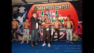 Inilah Juara Lomba Body Contest MRSF Polres Kutim