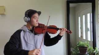 Whistle - Flo Rida (Violin Cover) Instrumental by William Wang