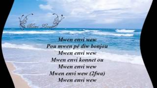 Jean Marie Ragald Mwen anvi we'w parole