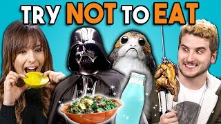 Try Not To Eat Challenge - Star Wars Food | People Vs. Food