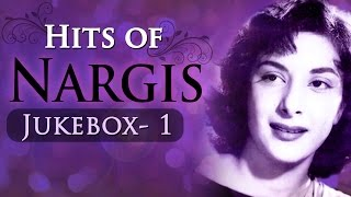 Nargis Dutt Top Songs Collection in Bollywood (HD) - Best Of Nargis Hits JUKEBOX