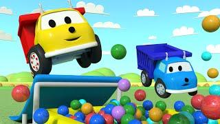 As brincadeiras com Pequeno Ethan ! Aprende CORES com Ethan o Caminhão Basculante Desenho  Educativo