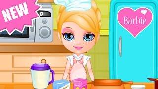 Baby Barbie Game Movie - Baby Barbie Cartoon Games - Dora the Explorer