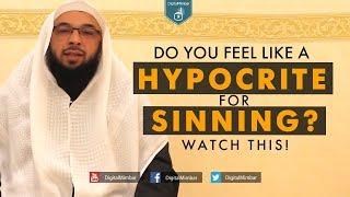 Do you Feel Like a Hypocrite for Sinning? Watch this! - Tahir Wyatt